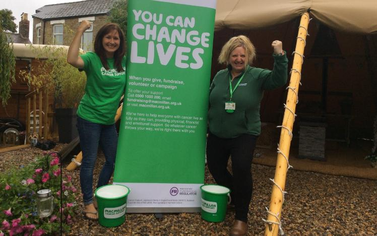 Newcastle Racecourse supports Macmillan at the 2019 Stampede
