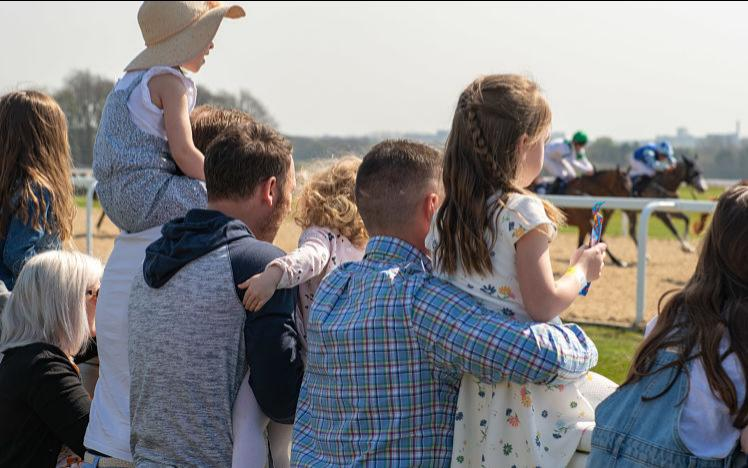 Kids at the races, Newcastle Racecourse, 2019, under 18s race free!