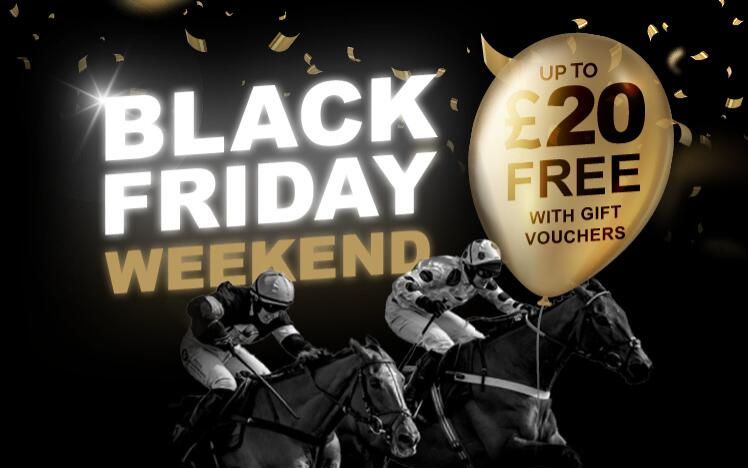 Treat someone with a black friday gift voucher to enjoy live horse racing at Newcastle Racecourse. A unique gift