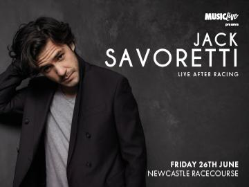 Jack Savoretti Live After Racing at Newcastle Racecourse